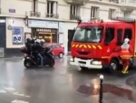 France: Knife attack close to former Charlie Hebdo office in Paris leaves four injured