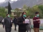 COVID-19 outbreak: Journalists protest against police torture in Gilgit