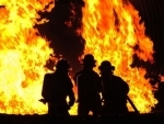 Major fire erupts in
