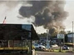 Five injured in US shopping centre gas explosion