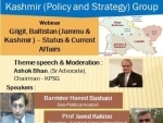 Gilgit Baltistan under illegal occupation of Pakistan since 1947, say experts at a webinar