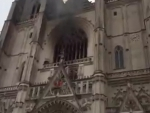 Nantes cathedral fire: Church volunteer re-arrested