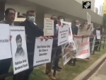 Enforced disappearance: Baloch, Sindhis, Pashtuns demonstrate against Pakistan in Toronto