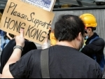 Hong Kong police hunt for the pro democracy activists