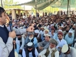 PTM leaders protests detention of Mohsin Dawar