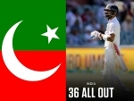 Imran Khan's PTI trolls India after latter suffer historic batting collapse in Australia; netizens call activity 'disgusting'