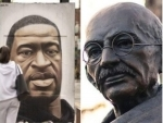 Black Lives Matter protest: Mahatma Gandhi's statue targeted with anti-racist messages in London