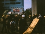 Amid COVID-19 scare, Chinese police clash with protesters in Hong Kong
