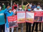 Bangladesh: Hindu organizations demonstrate against Nepal PM Oli over his comments on Lord Rama