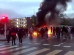 Riots in Sweden's Malmo after anti-Islam Danish leader slapped two-year ban, blocked from Quran burning rally