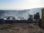 Greece: Devasting fire compounds overcrowding and COVID-19 challenges in refugee camp