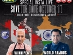 Celeb Indian chef Ajay Chopra and his namesake Canadian entrepreneur come together for special Live Cookoff event