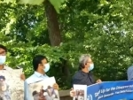 New York: People protest outside Pakistan Consulate over forceful abductions
