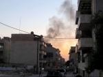 Intensified Saudi-led airstrikes hit Houthi-controlled sites in northern Yemen