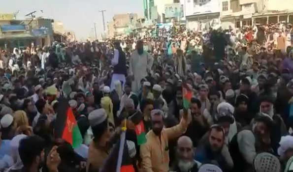 Chaman Incident: Afghans protest against Pakistan