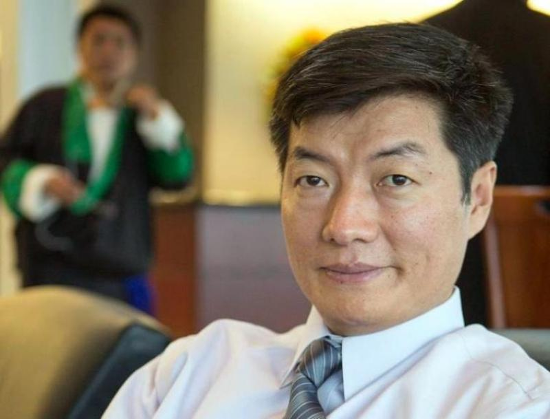 Tibetan leader Lobsang Sangay visits White House for first time in 6 decades