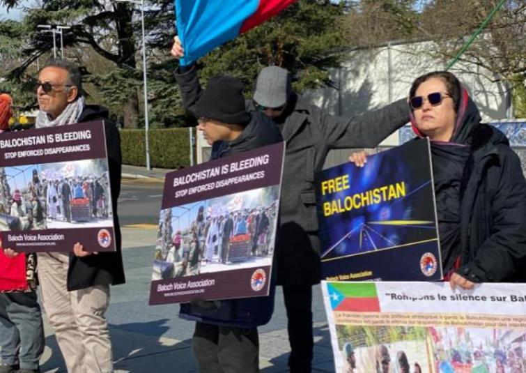Pakistan ethnic groups stage protest in Geneva on UNHRC sidelines, Pashtun leader seeks India's help