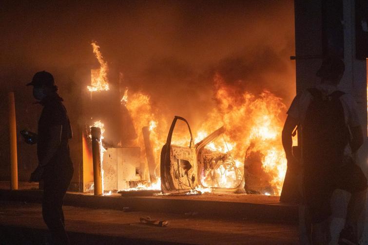 Los Angeles, Philadelphia, Atlanta impose curfews amid riots: local authorities