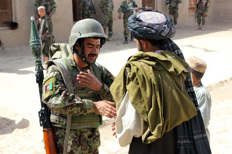 Soldiers recruited to Afghan army amid increased violence