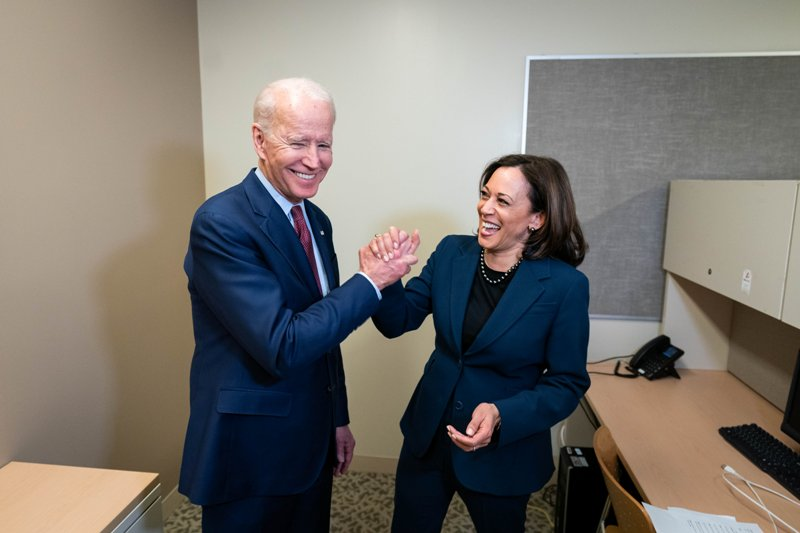 Biden, the former Vice President of the United States of America, hailed Harris as one of the US