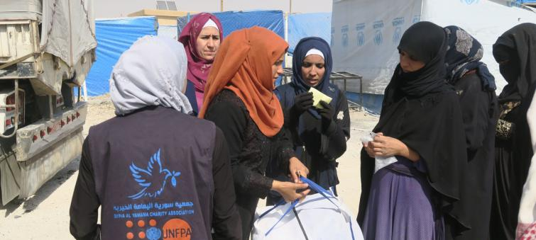 Health services for Syrian women caught up in war, foster safety and hope: UNFPA