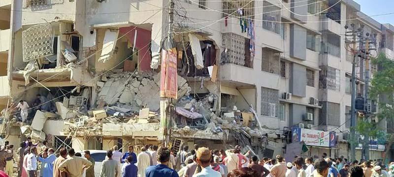 Pakistan: Karachi explosion leaves five people dead