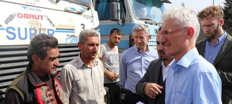 Syria: UN relief chief appeals for renewal of lifesaving cross-border aid operation