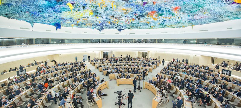UNHRC: Baloch leader targets Pakistan over its oppression on people