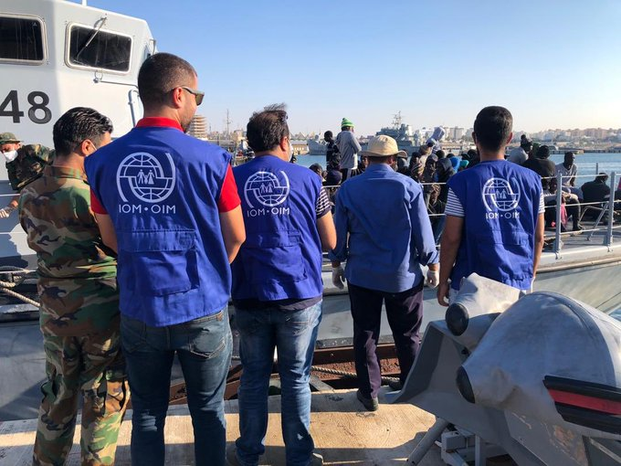 IOM reports 160 illegal immigrants rescued off Libyan coast