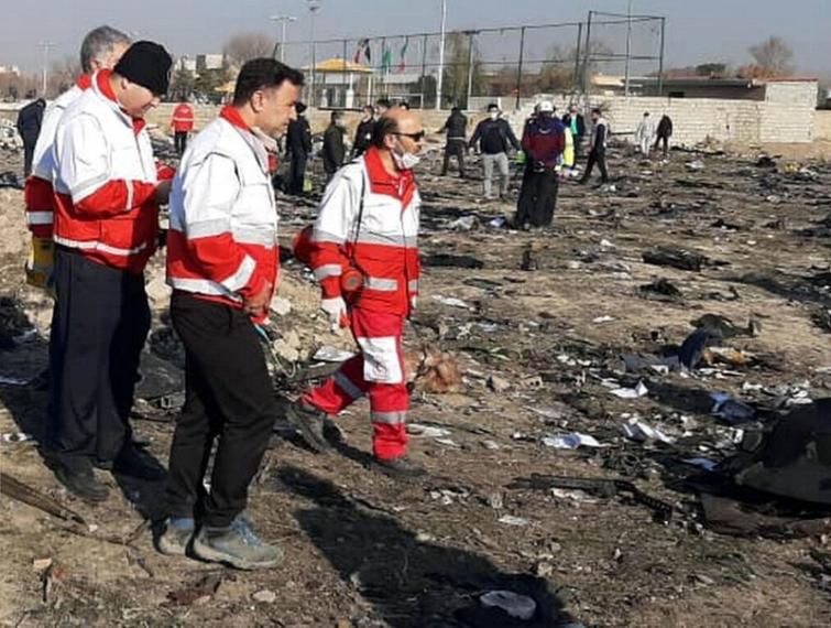 Ukraine's embassy in Iran says plane crashed due to engine malfunction, not terror act