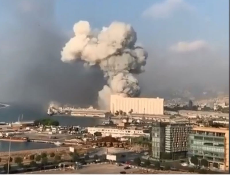 Over 40 Syrians died in Beirut blast : Embassy
