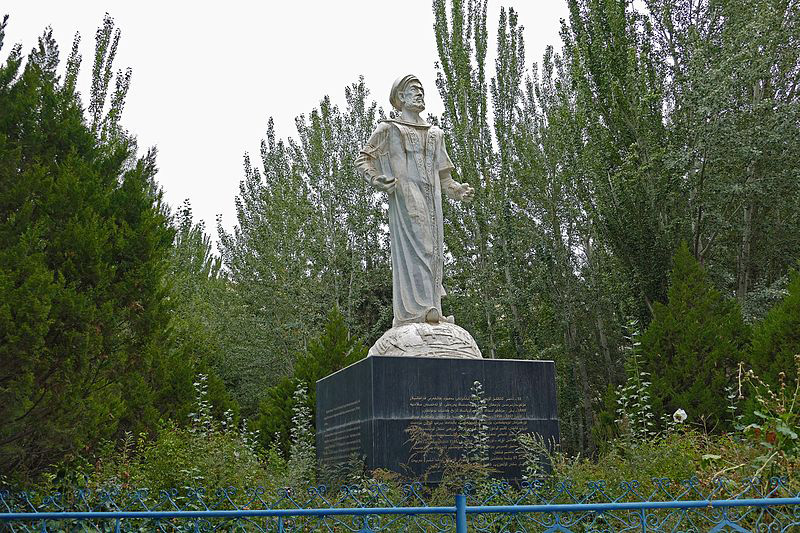 Chinese authorities remove statue of revered Uyghur scholar in Xinjiang: Report