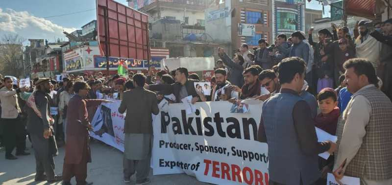 Afghanistan witnesses massive demonstration against Pakistan PM Imran Khan's visit