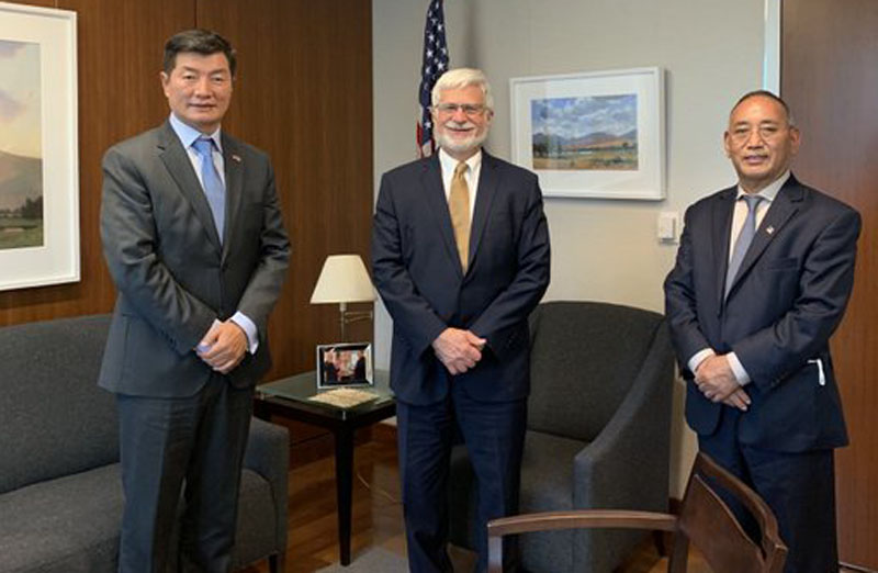 Tibetan leader Lobsang Sangay invited to US State Dept for first time in six decades