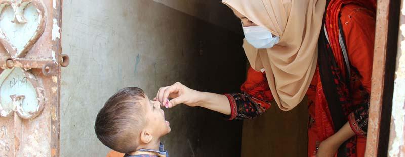 Pakistan again records Polio cases