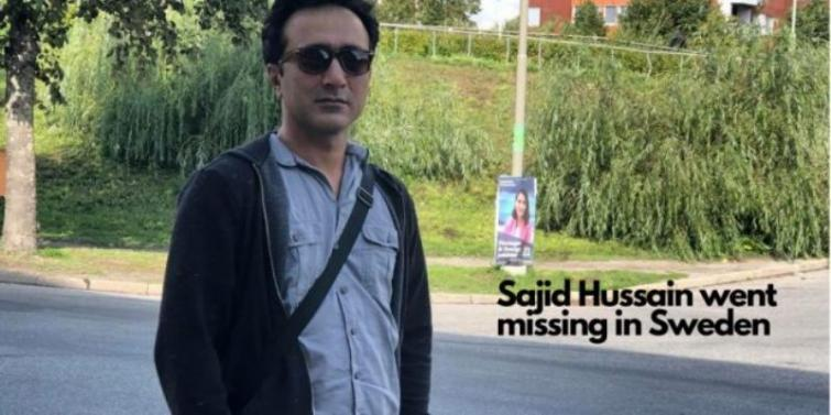 Baloch journalist goes missing in Sweden, Baloch National Movement doubts ISI's role