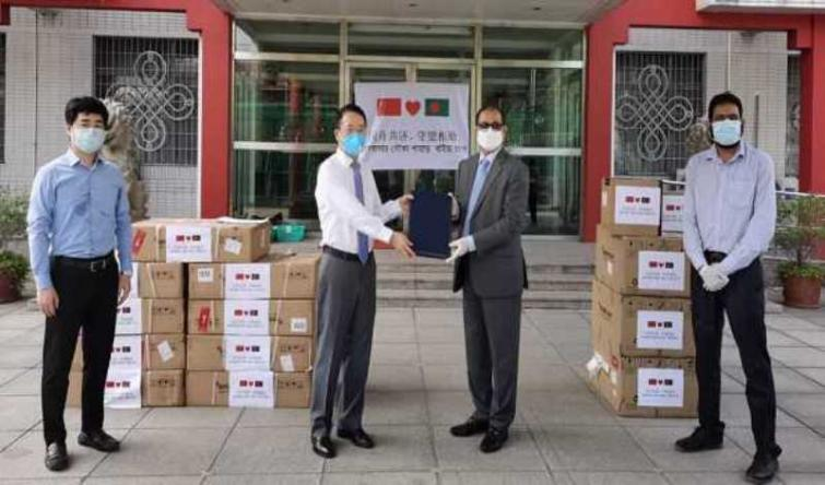 COVID-19:  China provides medical equipment to Bangladesh