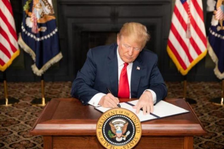 Trump says Beijing working hard to contain Coronavirus, US appreciates China's efforts