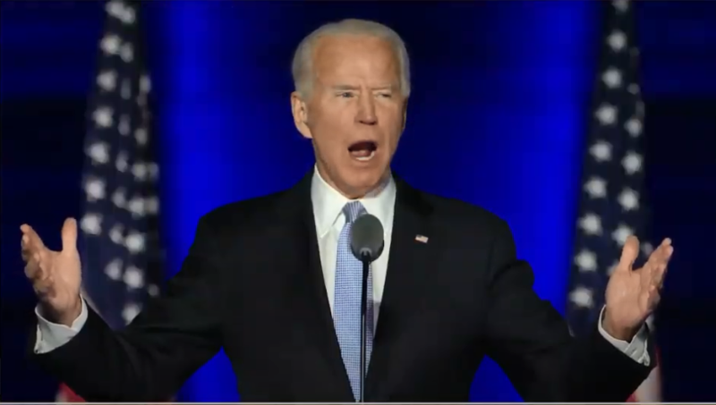 US President-elect Joe Biden promises to get coronavirus under control
