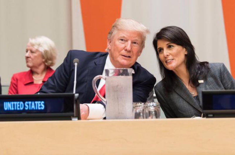 US: Nikki Haley targets Pakistan over 'terrorism' issue