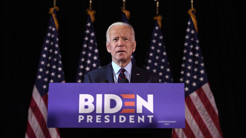 Biden pledges free COVID-19 vaccines for all if elected