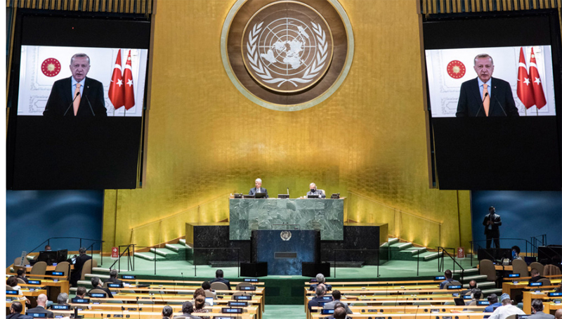 Look at both 'full and empty parts' of global glass, Turkey urges Member States