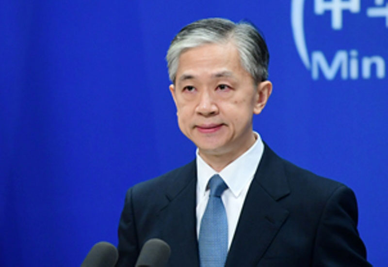 India-Chinese troops disengage in most locations: Wang Wenbin