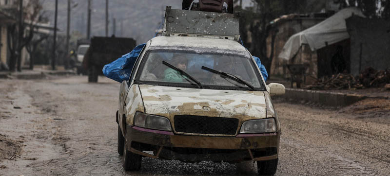 UN officials denounce bombings in northern Syria