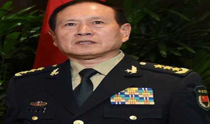 Chinese defence minister Wei Fenghe arrives for one-day visit to Nepal