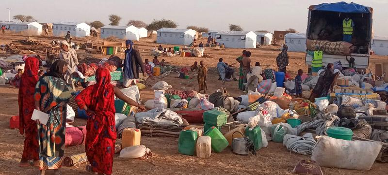 Malian refugees return to Burkina Faso camp nine months after violent attacks