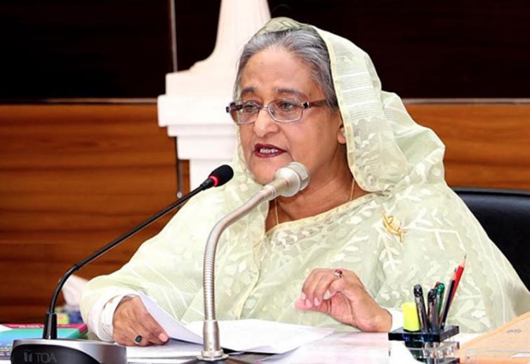 Bangladesh PM Sheikh Hasina dials Mamata Banerjee over Amphan losses