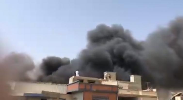 Pakistan International Airlines aircraft crashes near Karachi airport, rescue operations underway