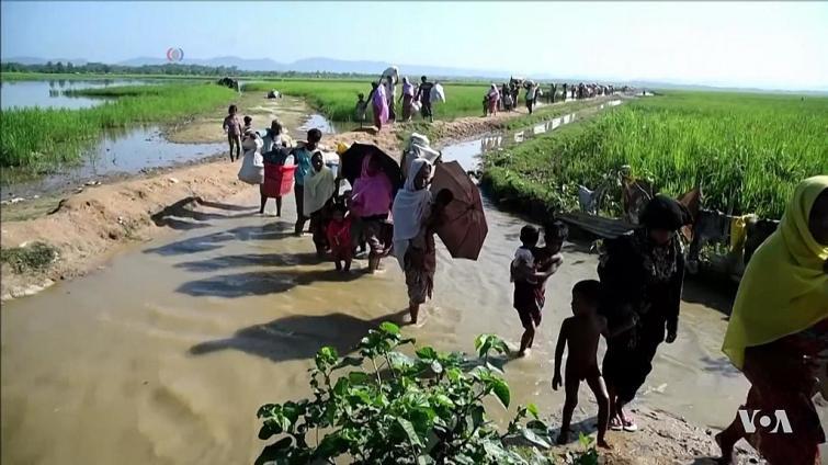 20 students injured as mortar hits primary school in Myanmar's Rakhine state