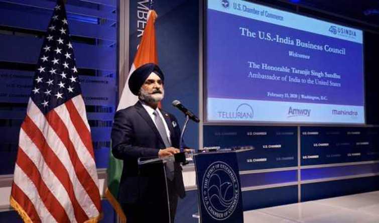 Trump visit will solidify India-US partnership: Amb Sandhu